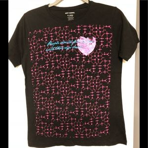 Andy Warhol designer XL juniors love poem